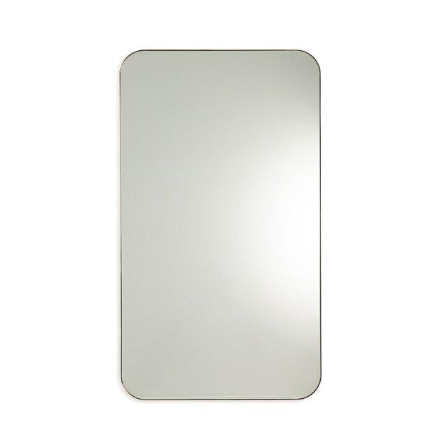 Μεταλλικός καθρέφτης με μπρονζέ παλαιωμένο φινίρισμα Υ140 εκ., Caligone