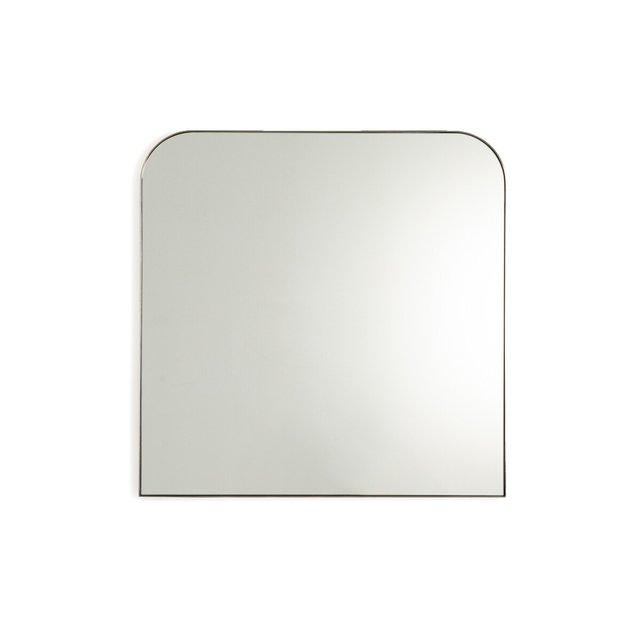 Μεταλλικός καθρέφτης με μπρονζέ παλαιωμένο φινίρισμα Υ70 εκ., Caligone