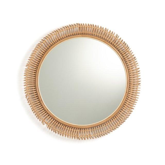 Καθρέφτης από ρατάν Δ100 εκ., Tarsile
