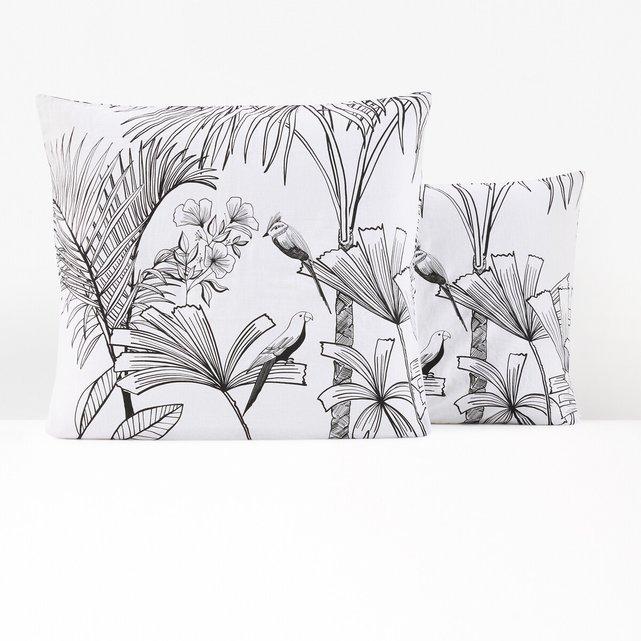 Μαξιλαροθήκη από προπλυμένο σύμμικτο ύφασμα, Jalapao