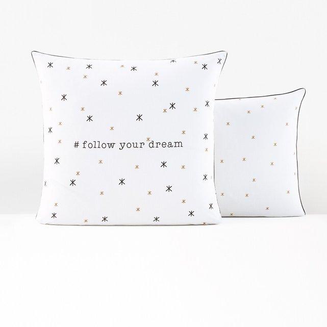 Βαμβακερή μαξιλαροθήκη, Follow your dream
