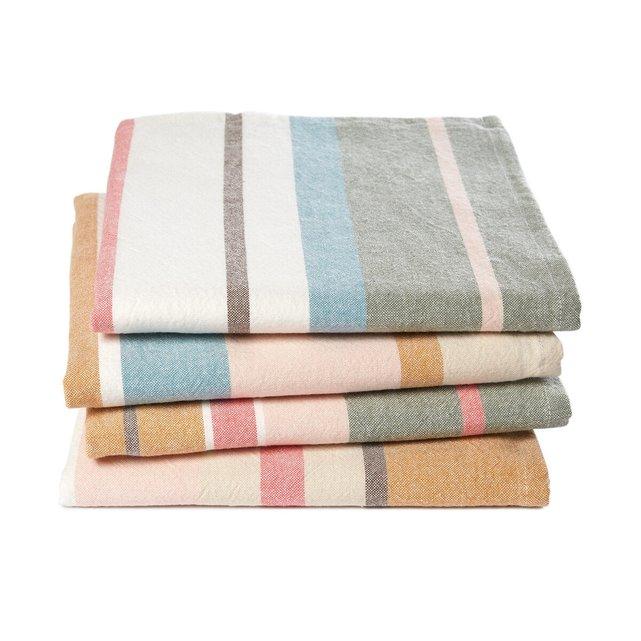 Πετσέτες φαγητού νηματοβαφή από βιολογικό βαμβάκι, Antika