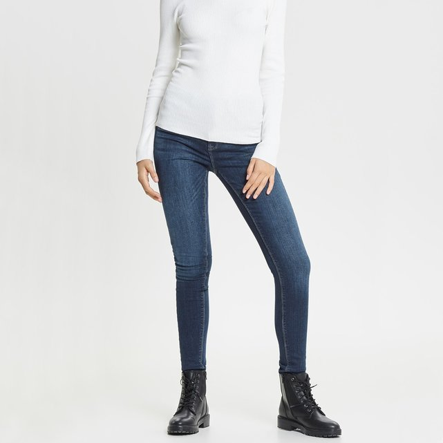 Ψηλόμεσο skinny τζιν, μήκος 32
