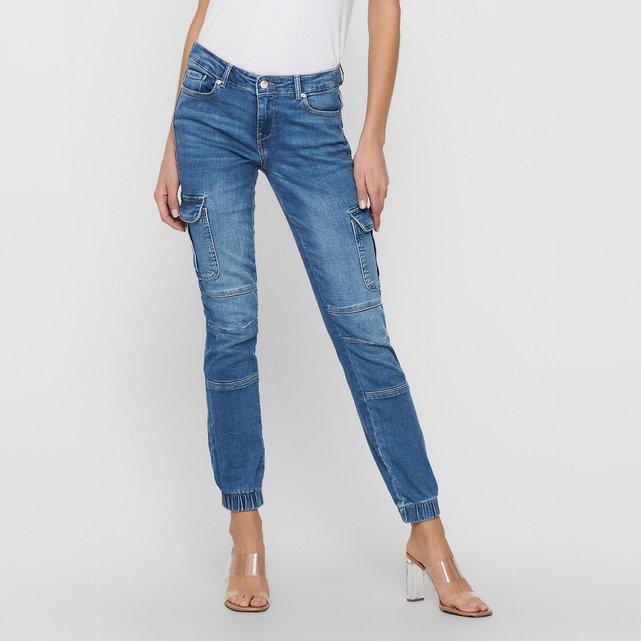 Παντελόνι slim jeans, μήκος 30