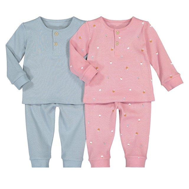 Σετ 2 πιτζάμες, 6 μηνών - 4 ετών