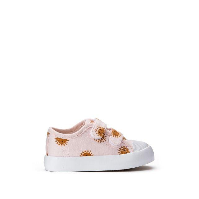 Αθλητικά παπούτσια με βέλκρο και μοτίβο ήλιο, 19 - 27