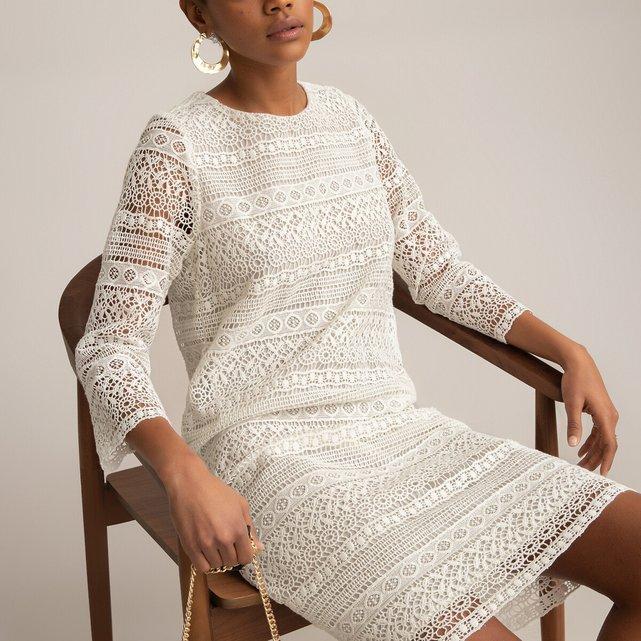Φόρεμα από γκιπούρ δαντέλα
