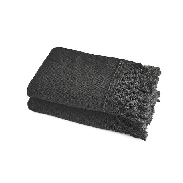 Σετ 2 πετσέτες χεριών από οργανικό βαμβάκι λινό, Kiramy