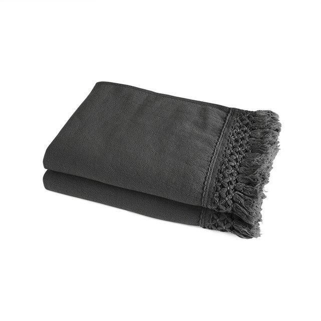 Σετ 2 πετσέτες προσώπου από οργανικό βαμβάκι λινό, Kiramy