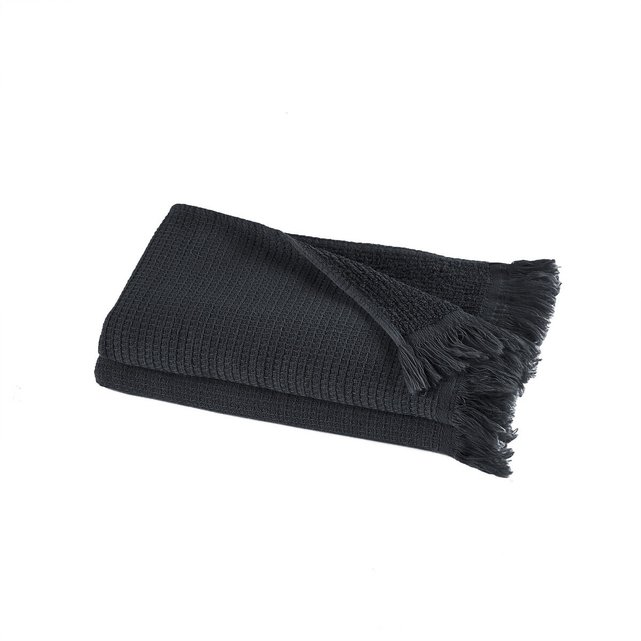 Σετ 2 πετσέτες χεριών από βιολογικό βαμβάκι λινό, Nipaly