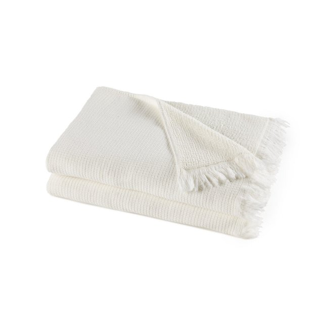 Σετ 2 πετσέτες από οργανικό βαμβάκι λινό, Nipaly