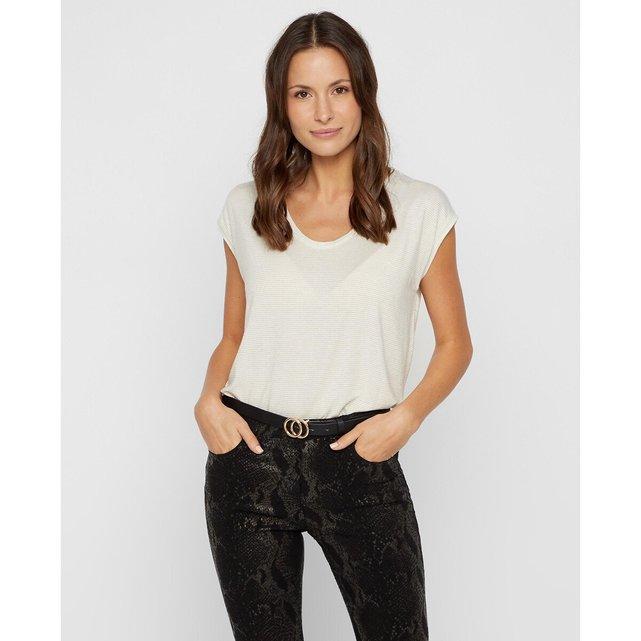 Γυαλιστερή μπλούζα