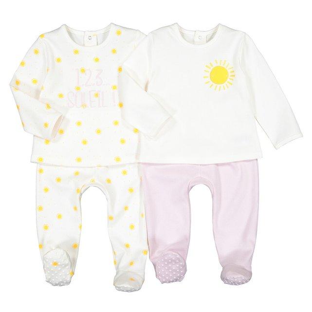 Σετ 2 πιτζάμες, 3 μηνών - 3 ετών
