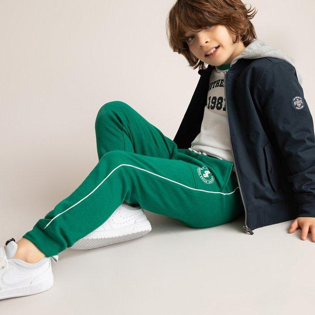 Παντελόνι jogpant από φανέλα, 3-14 ετών