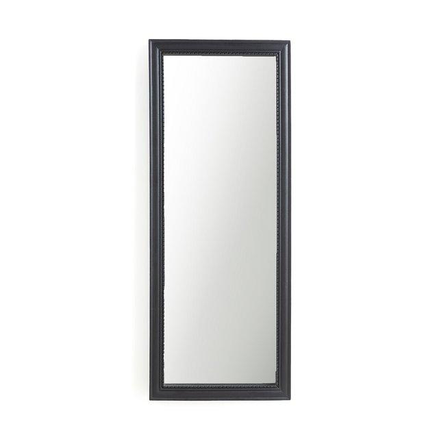 Ορθογώνιος καθρέφτης από μασίφ ξύλο μάνγκο Υ140 εκ., Afsan