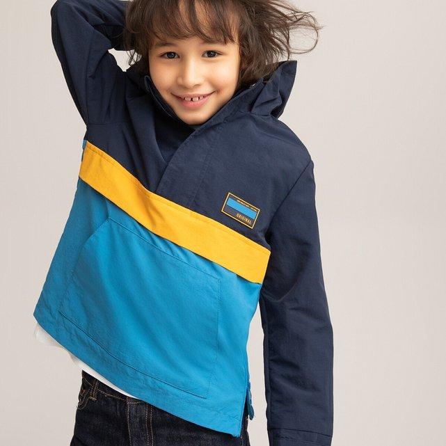 Αντιανεμικό μπουφάν με κουκούλα, 3-12 ετών