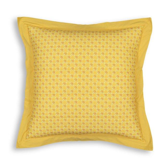 Καπιτονέ θήκη για μαξιλάρι από λεπτό βαμβακερό ύφασμα, Tracy