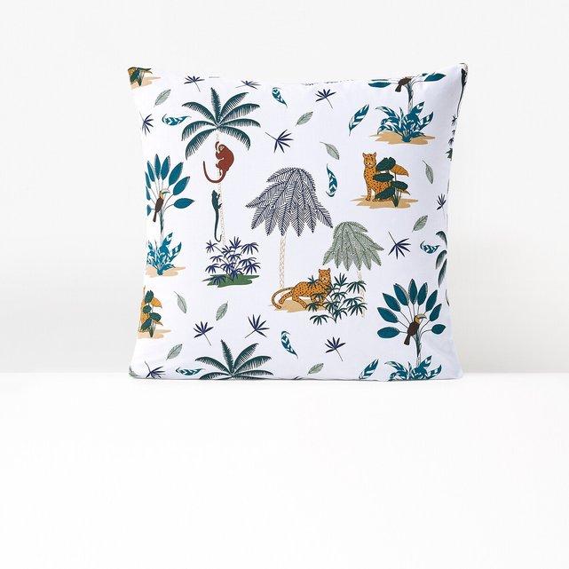 Μαξιλαροθήκη από βιολογικό βαμβάκι, Petite Jungle