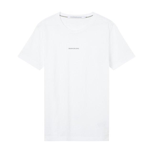 Κοντομάνικο T-shirt με στρογγυλή λαιμόκοψη, Branding Essential