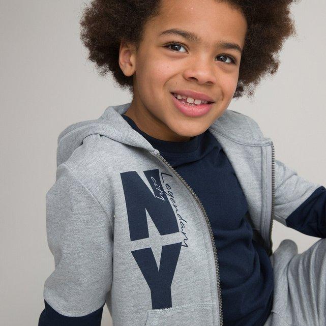 Φανελένιο σύνολο φούτερ και παντελόνι, 3 - 12 ετών