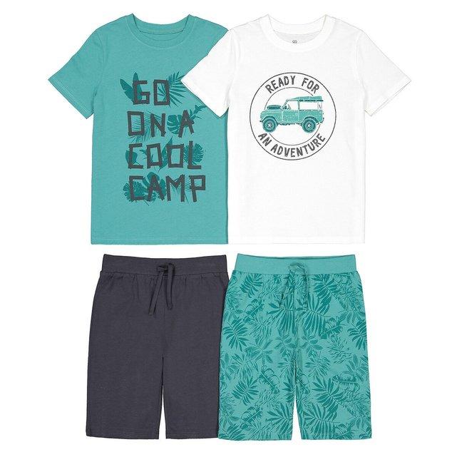 Σετ 2 πιτζάμες με σορτς, 3-12 ετών