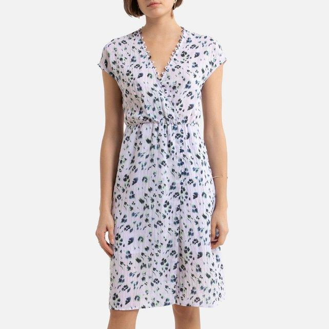 Κοντό φόρεμα με V