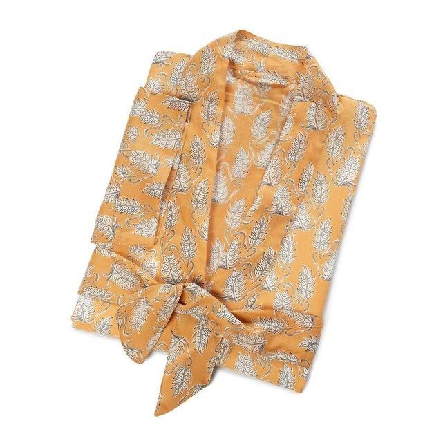 Μπουρνούζι κιμονό από λεπτό βαμβακερό ύφασμα, Dario