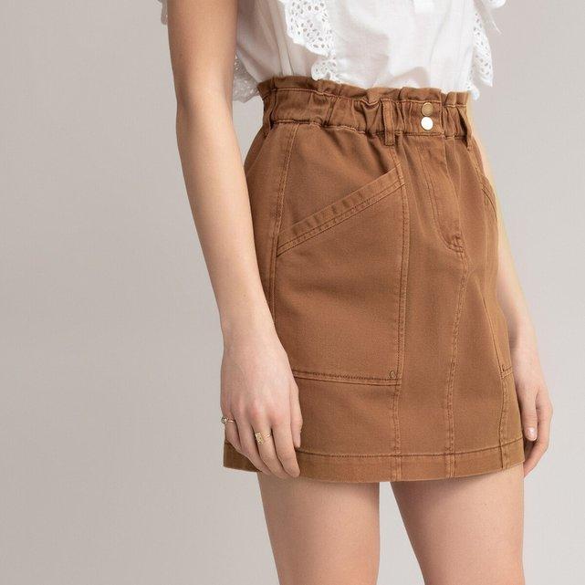 Κοντή βαμβακερή φούστα