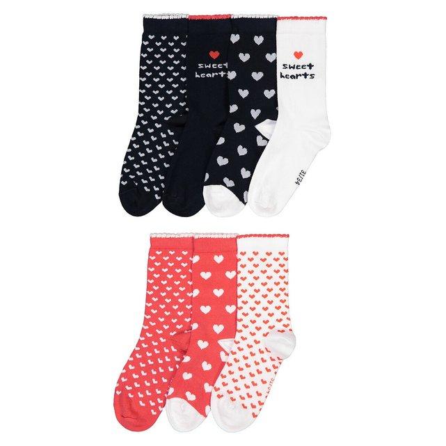 Σετ 7 ζευγάρια κάλτσες, 23|26 - 39|42