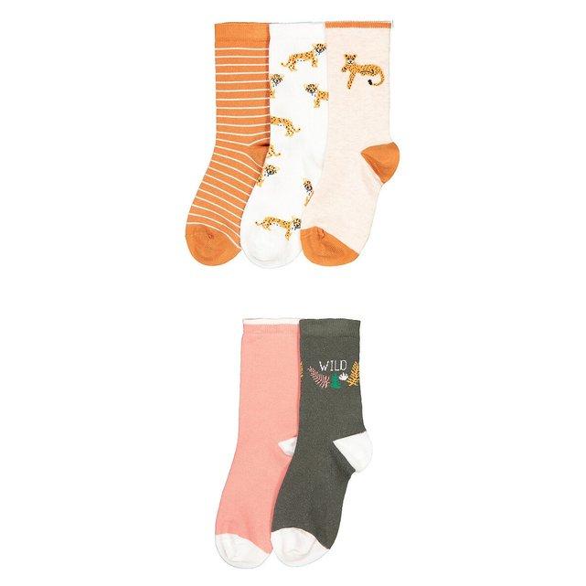 Σετ 5 ζευγάρια κάλτσες, 23|26 - 39|42