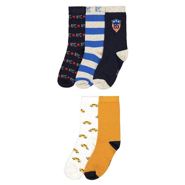 Σετ 5 ζευγάρια κάλτσες, 23|26-39|42
