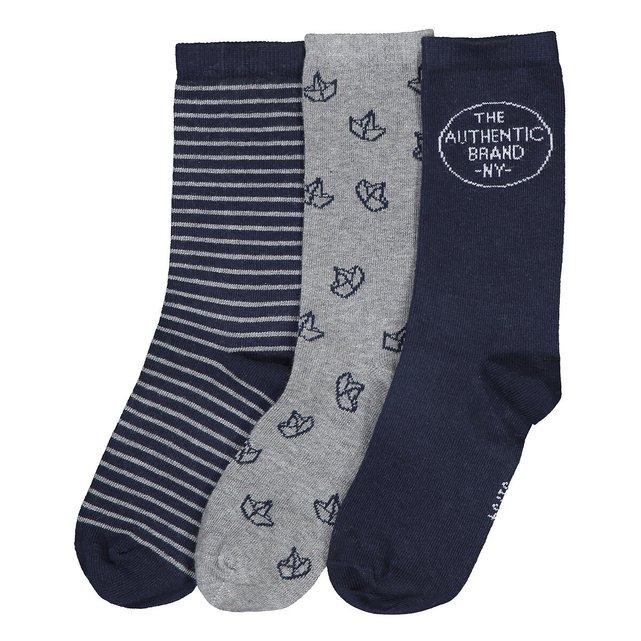 Σετ 3 ζευγάρια κάλτσες, 23|26 - 39|42