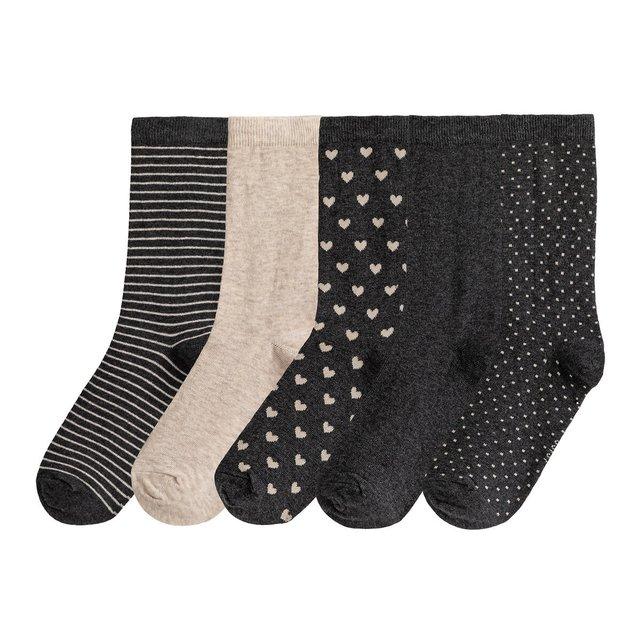 Σετ 5 ζευγάρια μίντι κάλτσες