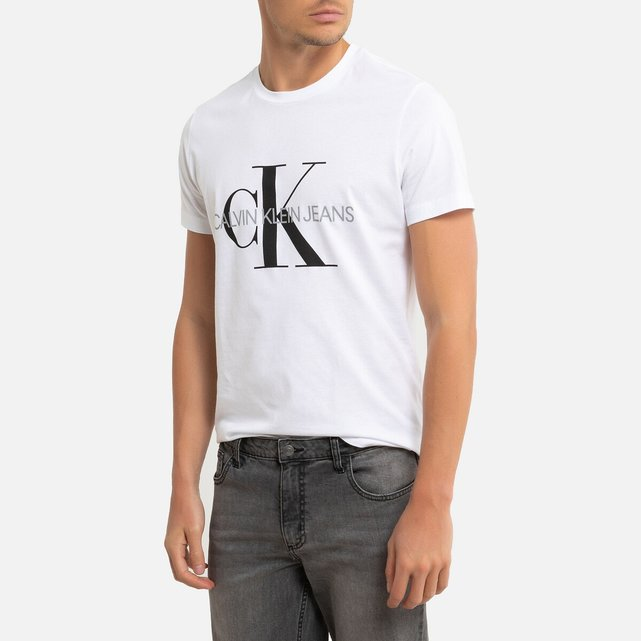 T-shirt σε slim γραμμή, Iconic Monogram