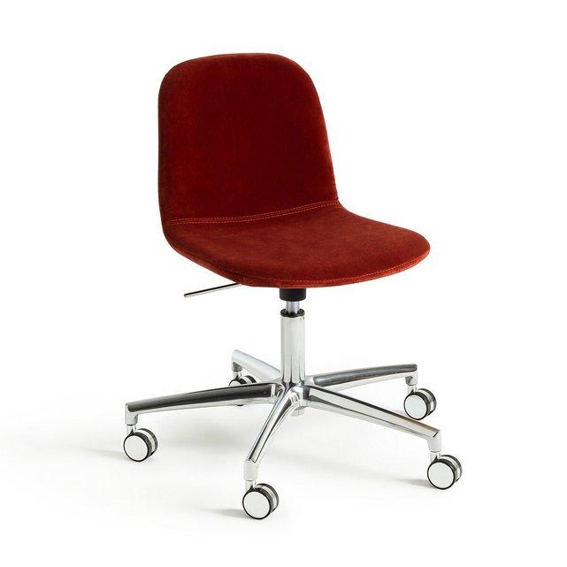 Καρέκλα γραφείου με βελούδινη ταπετσαρία, Tibby