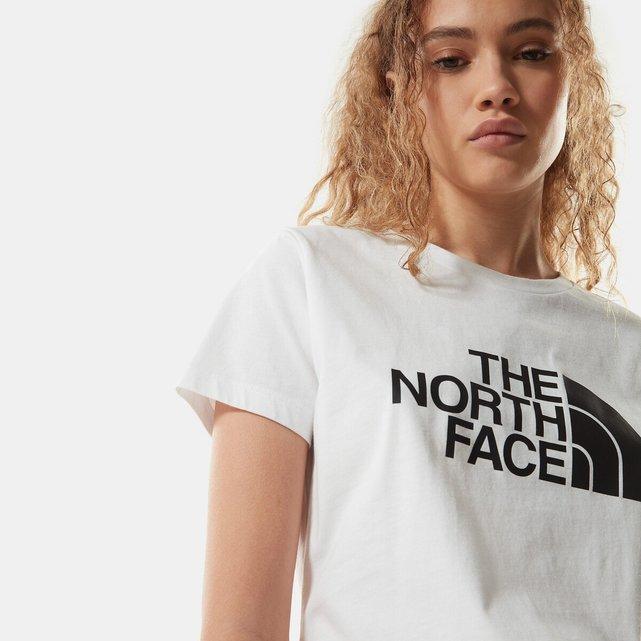 Κοντομάνικο T-shirt με στρογγυλή λαιμόκοψη και λογότυπο, Easy