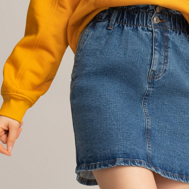 Τζιν φούστα σε ίσια γραμμή, 10-18 ετών