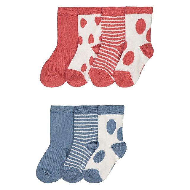 Σετ 7 ζευγάρια κάλτσες, 15|8 - 23|26