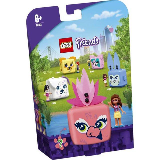 41662 Olivia'S Flamingo Cube