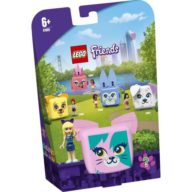 41665 Stephanie'S Cat Cube