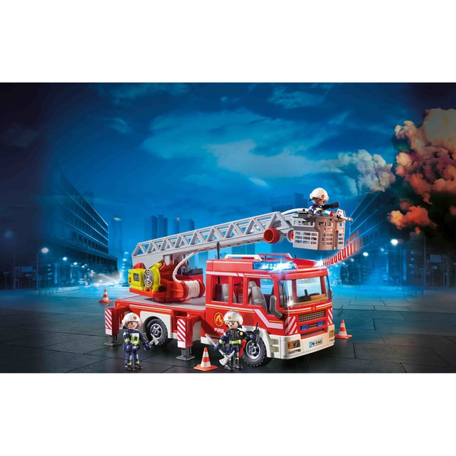 Όχ. Πυροσβεστικής σκάλα- καλάθι διάσωσης