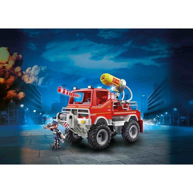 Όχημα Πυροσβεστικής με τροχ. ρυμούλκησης