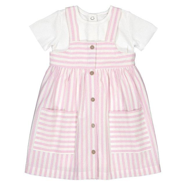 Σύνολο μπλούζα + φόρεμα, 3 μηνών - 4 ετών