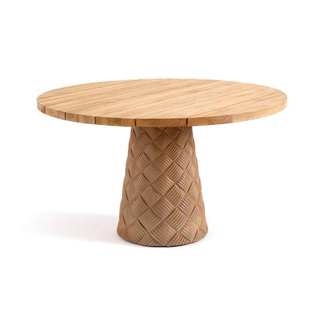 Τραπέζι κήπου από μασίφ ξύλο teak, Argine