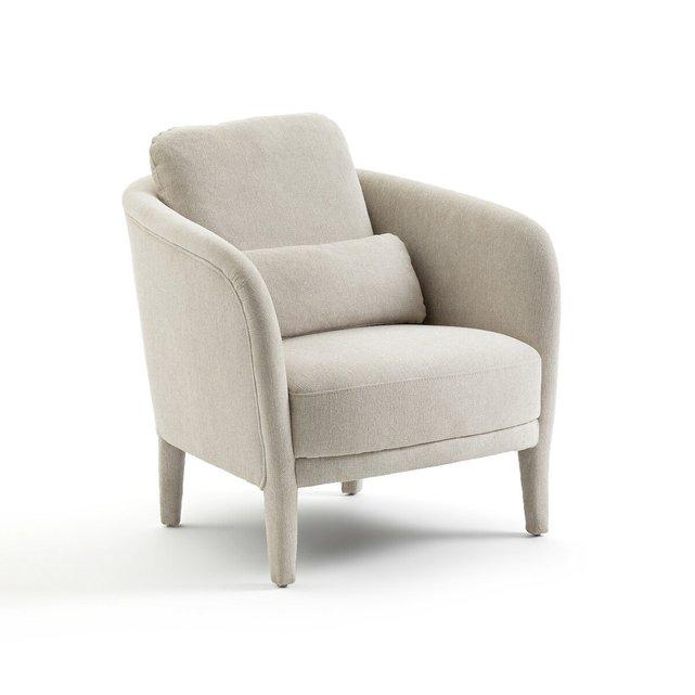 Πολυθρόνα με ύφασμα από πολυέστερ, Hugues