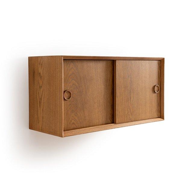 Επίτοιχο δρύινο ντουλάπι vintage, Quilda