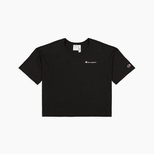 Κοντομάνικο T-shirt με λογότυπο και μοτίβο στην πλάτη