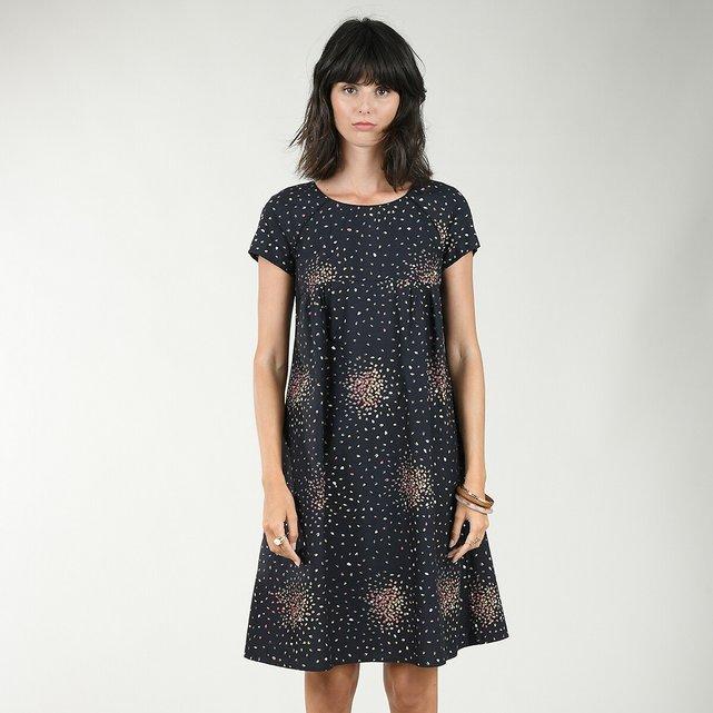 Κοντό ριχτό φόρεμα