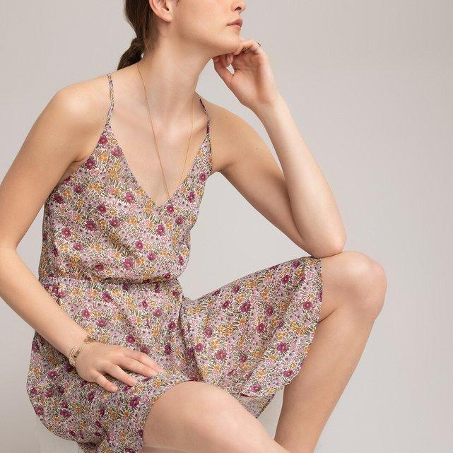 Εξώπλατο φλοράλ φόρεμα