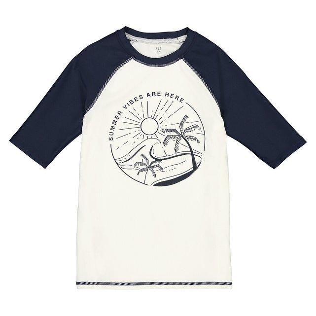 T-shirt με αντηλιακή προστασία, 3-12 ετών